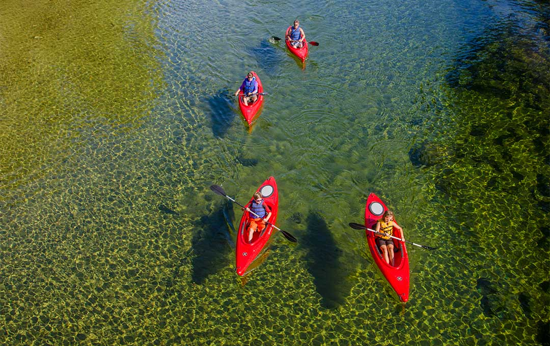 Groups love paddling the Saco River